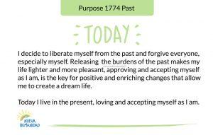 Purpose 1774 Past