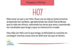 Propósito 1792 Fluir