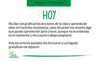 Propósito 1793 Gratitud