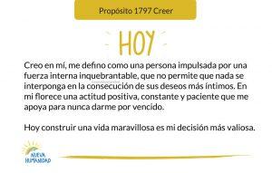 Propósito 1797 Creer