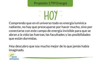 Propósito 1799 Energía