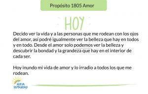 Propósito 1805 Amor