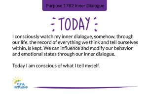 Purpose 1782 Inner Dialogue