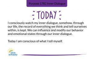 Purpose 1782 Inner Dialogue