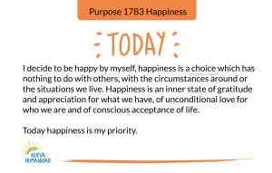 Purpose 1783 Happiness