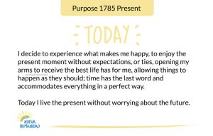 Purpose 1785 Present
