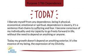 Purpose 1786 Dependence