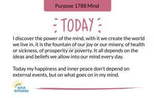 Purpose 1788 Mind
