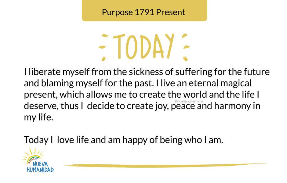 Purpose 1791 Present