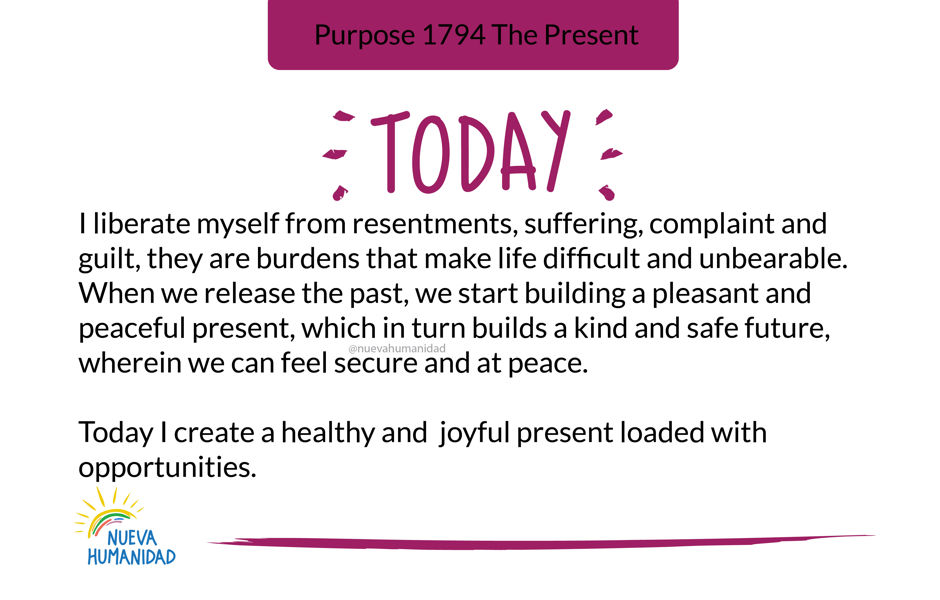 Purpose 1794 The Present