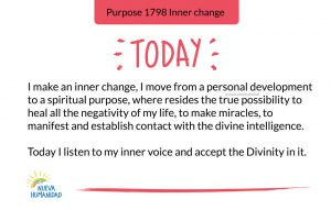 Purpose 1798 Inner change