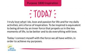 Purpose 1800 Inspiration