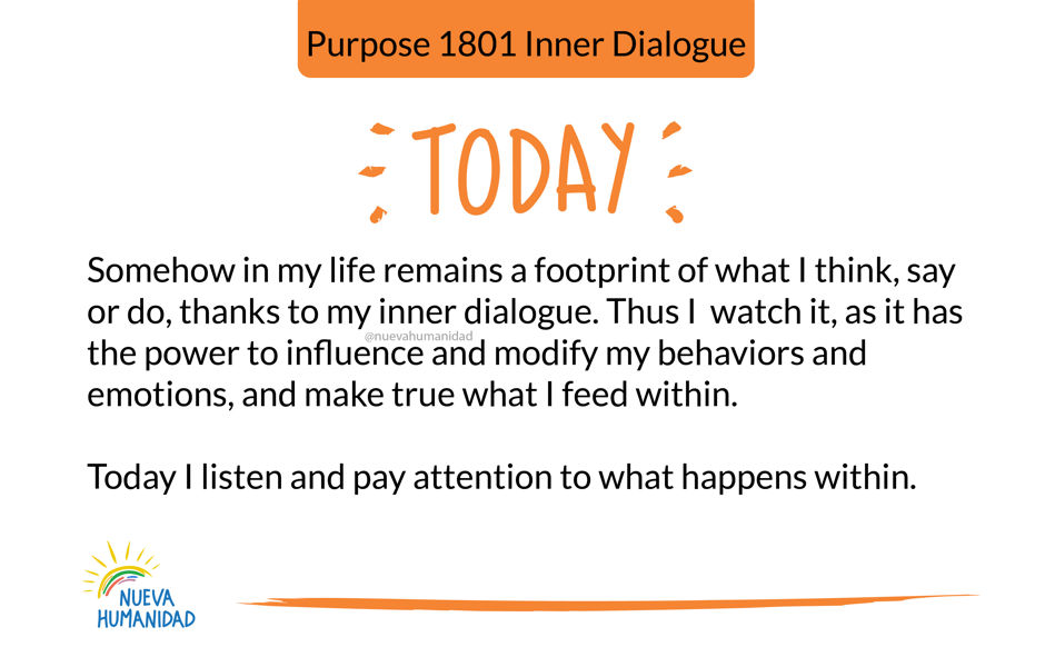 Purpose 1801 Inner Dialogue