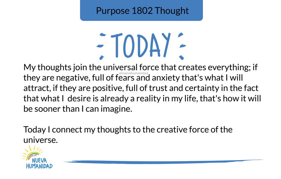 Purpose 1802 Thought
