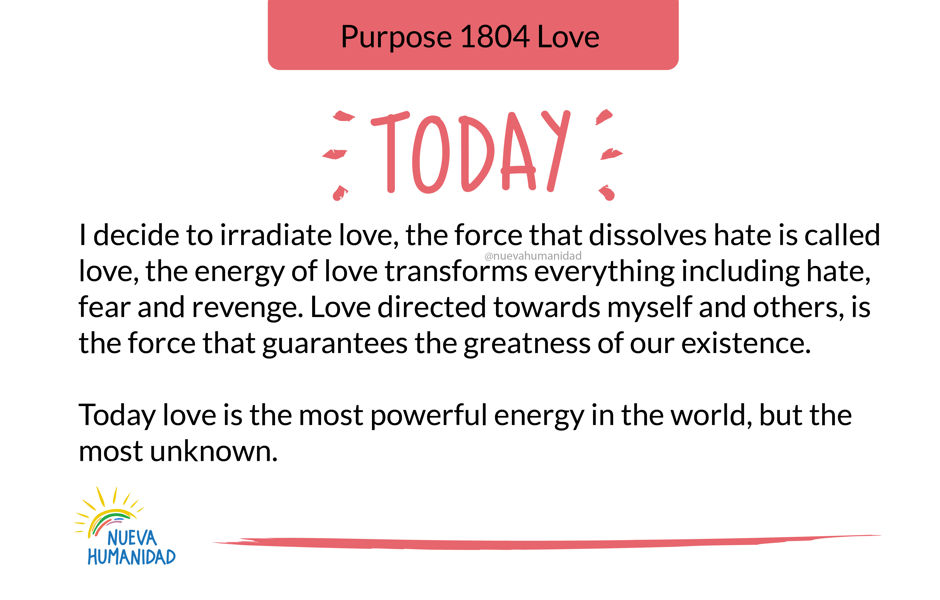 Purpose 1804 Love