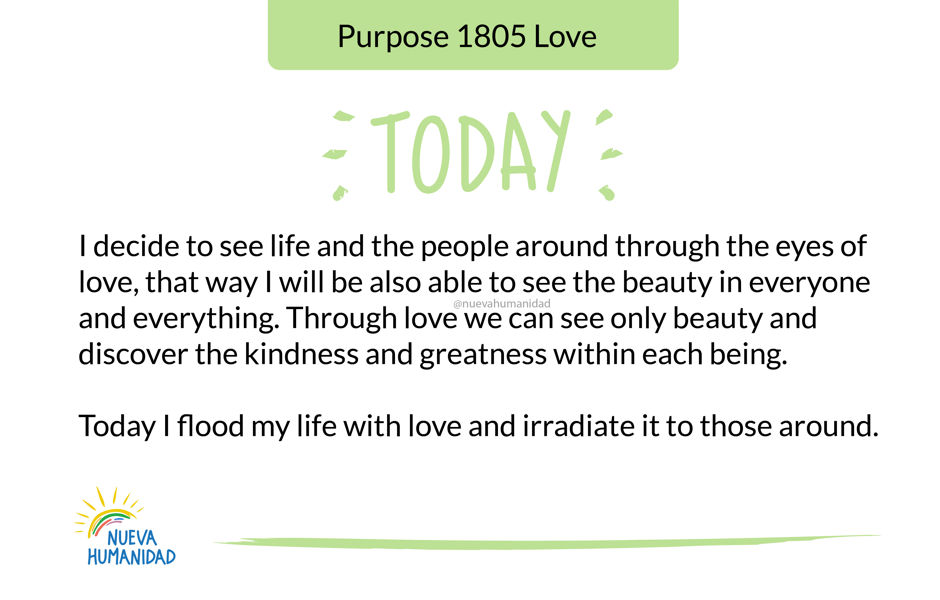Purpose 1805 Love