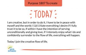 Purpose 1807 To create