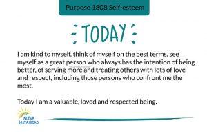 Purpose 1808 Self-esteem