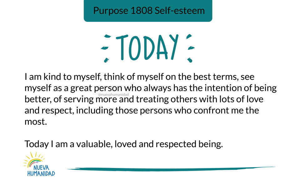 Purpose 1808 Self-esteem