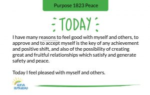 Purpose 1823 Peace