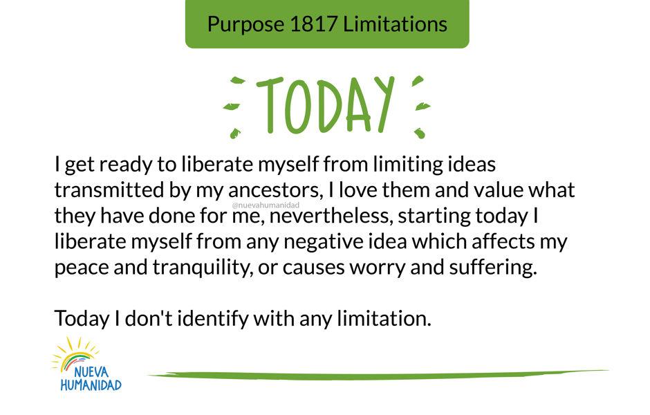 Purpose 1817 Limitations