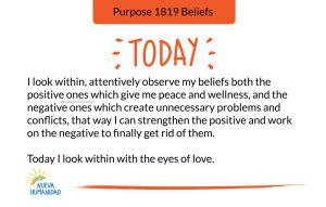 Purpose 1819 Beliefs