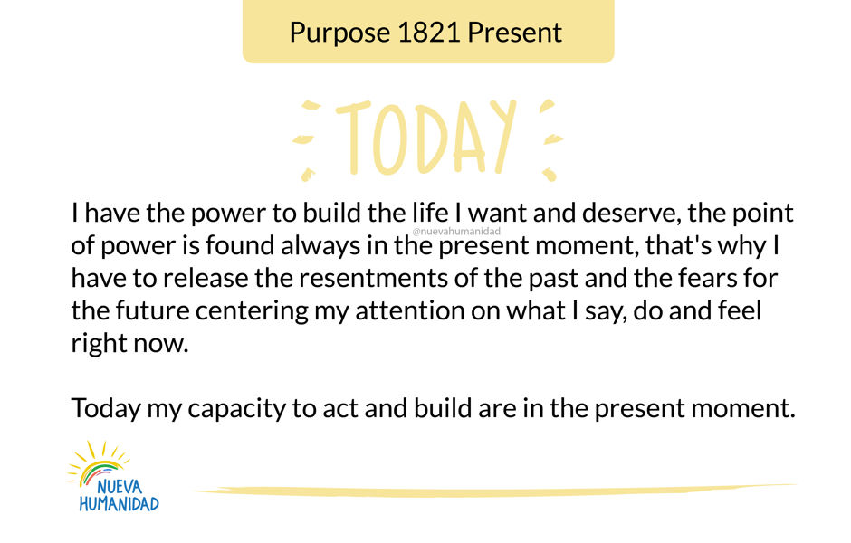 Purpose 1821 Present