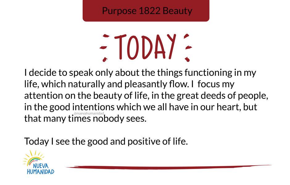 Purpose 1822 Beauty