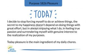 Purpose 1826 Pleasure