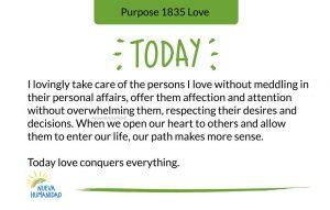 Purpose 1835 Love