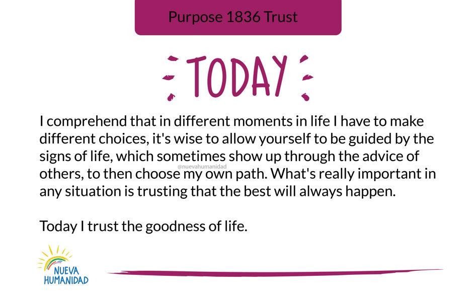 Purpose 1836 Trust