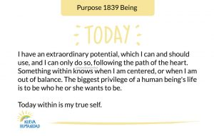 Purpose 1839 Being