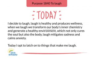 Purpose 1840 To laugh