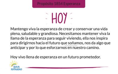 Propósito 1854 Esperanza
