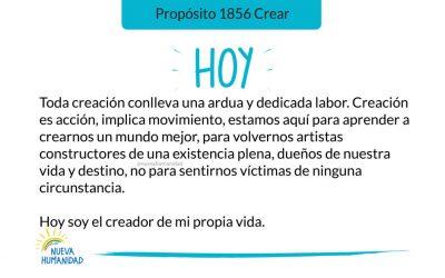 Propósito 1856 Crear