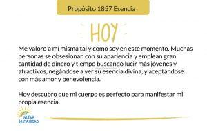 Propósito 1857 Esencia