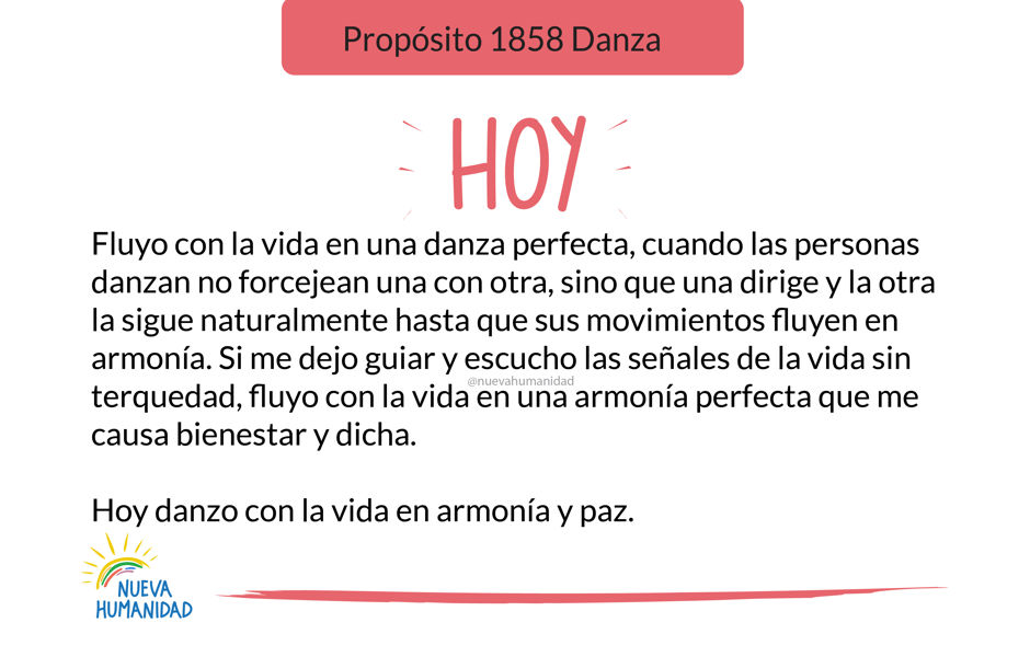 Propósito 1858 Danza