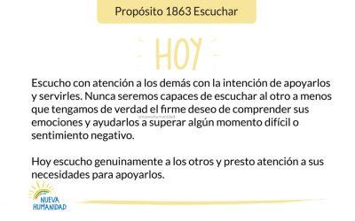 Propósito 1863 Escuchar