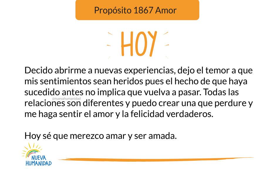 Propósito 1867 Amor