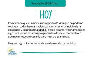 Propósito 1868 Amor