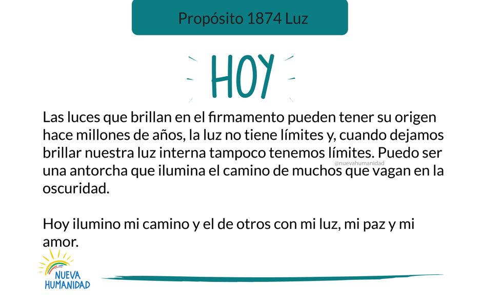 Propósito 1874 Luz