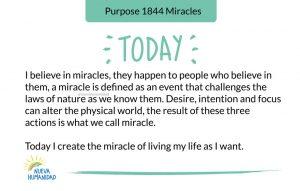 Purpose 1844 Miracles