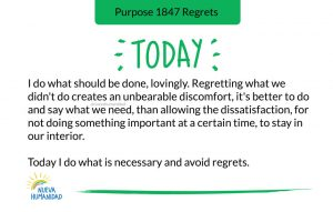 Purpose 1847 Regrets