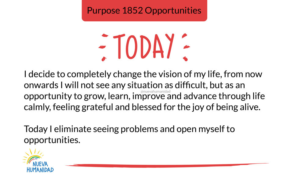 Purpose 1852 Opportunities