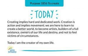Purpose 1856 To create