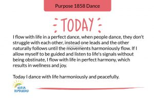 Purpose 1858 Dance