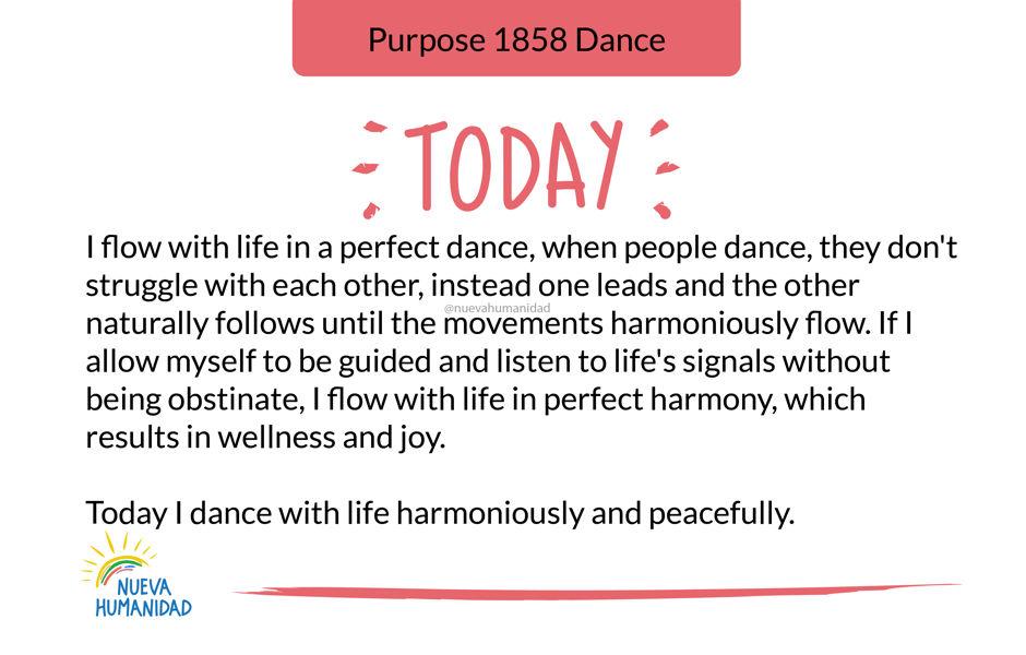 Purpose 1858 Dance