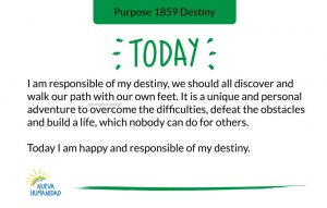 Purpose 1859 Destiny