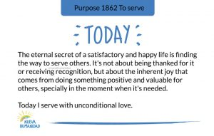 Purpose 1862 To serve