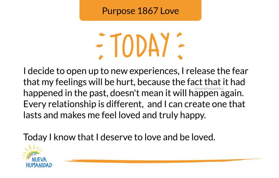 Purpose 1867 Love